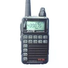Px2r mais versão uhf mi ni rádio em dois sentidos 400 470 mhz fm transceptor px 2r cb ham estação de rádio puxing PX 2R mi ni walkie