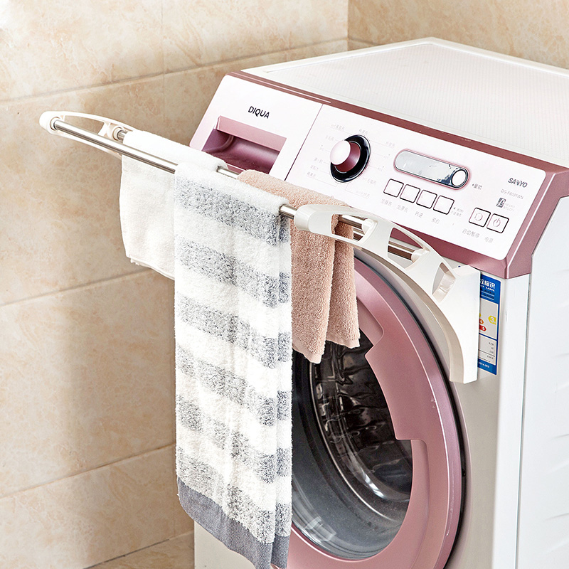 Washing Machine Side Of The Towel Drying Racks Multi Layer