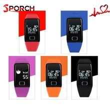 T1s смарт-браслет часы-пульсометр BT4.0 Смарт Браслет Шагомер фитнес SmartBand сна спортивный напоминание калорий