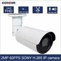 CCDCAM 2MP 1080 P 60FPS SONY IMX291 IMX290 HI3516A IP P2P STARVIS звездный свет безопасность Onvif высокой четкости Камера Бесплатная доставка