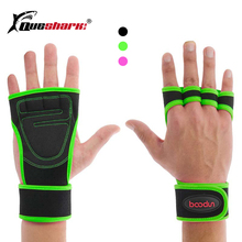 1 Pair Gym Gloves Weight Lifting Training Gloves Women Men Fitness Sports Body B