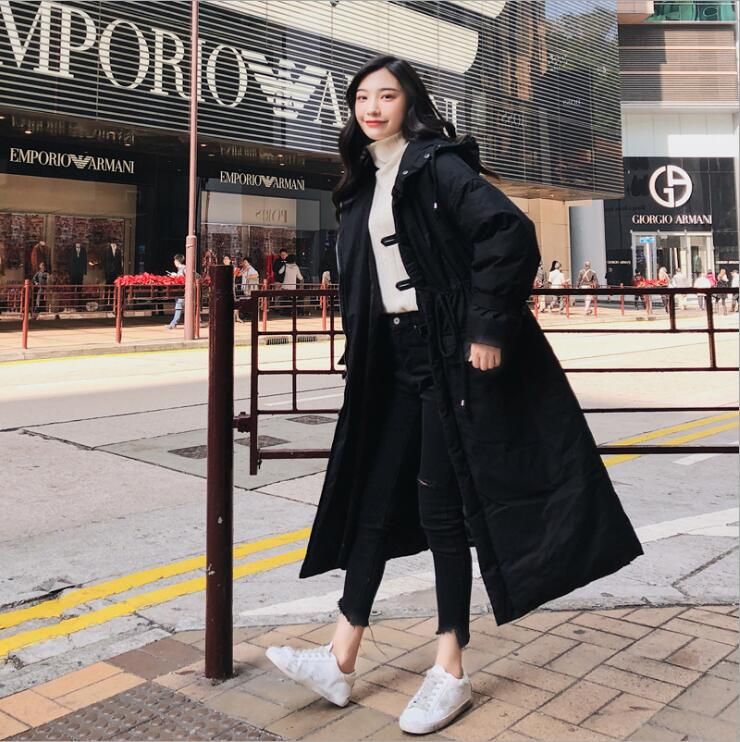Lâche Capuche Hiver Longue Manteaux Chaud Avec Doudounes vent Coupe Coton Décontractés noir gris Long Vêtements Femmes Épaissir Sustans De Beige Automne dPOgwqB0xq