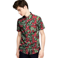 Personal Tailor African Print Mens Dashiki Shirts African Clothes Fashion Short Sleeve Shirt Of Africa Clothing