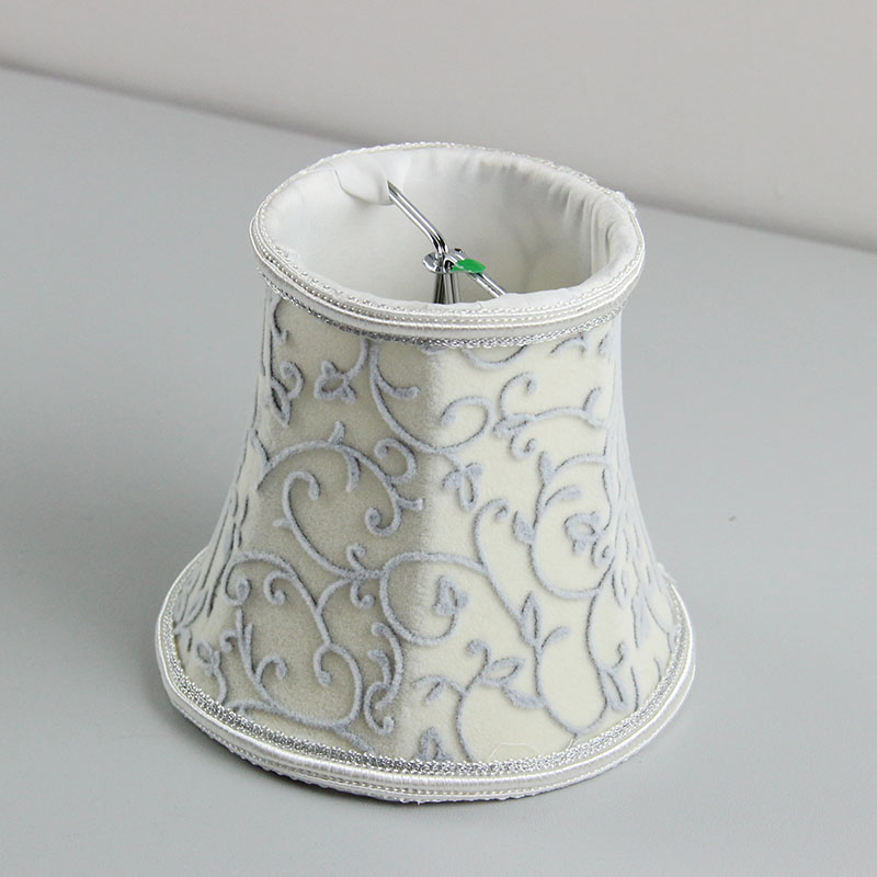 Flannel Fabric Wall Lamp Shades Covers Chandelier Mini
