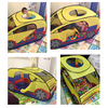 Kids Play Tent 120*60*65cm Car Shape Ocean Ball Play Tent Indoor Play House Outdoor Fun Hut Children Toy Folded Play Tent