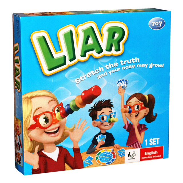US $16.73 |New Board Game Liar for Children Adult Party Fun Playing Cards  Table Games Entertainment Family Friends Funny Long Nose Game-in Board  Games ...
