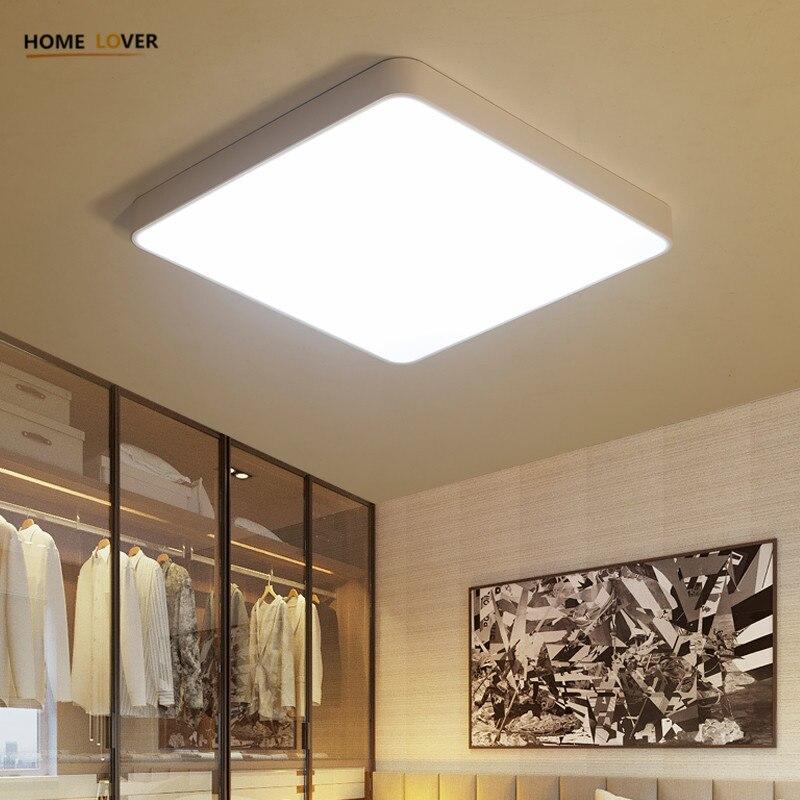 HomeLover Moderne plafoniere a led per soggiorno camera Da Letto ...
