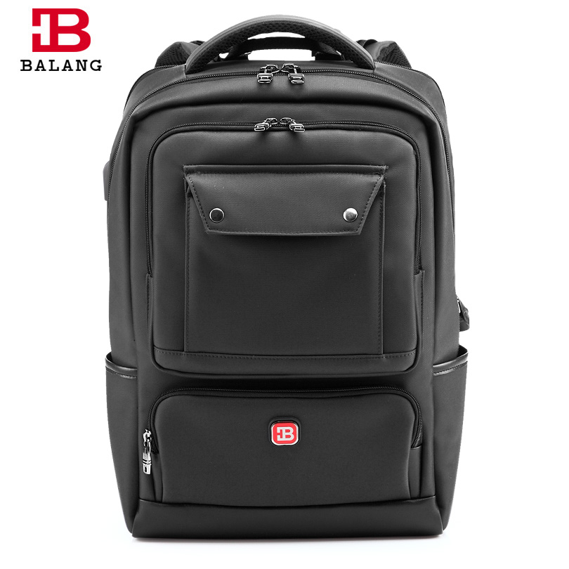 все цены на BALANG 2018 New Men Laptop Backpack Women Large Capacity Notebook Computer Rucksack Waterproof School Bag Backpacks for Teenager