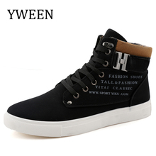 Autumn and Winter Lace-up Men's Boots Man Style Pu Leather Boot Male Rubber Cotton Plush Casual Shoes Man Martin Boot