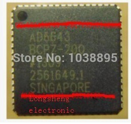 все цены на IC new original authentic free shipping AD6643BCPZ-250 Auxiliary attributes The sampling rate of 250MSPS 64-VFQFN онлайн
