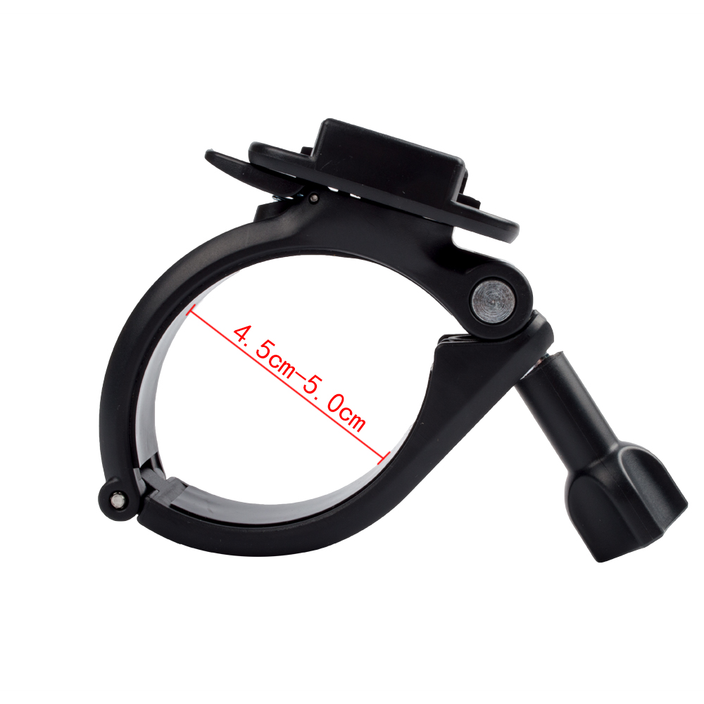 Bicycle Bike Motorcycle Handlebar Handle Bar Mount Adapter With 360 Rotate Funtion For Gopro Hero 5 4 4+ 3SJCAM Xiaomi 45-50mm