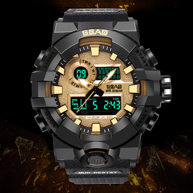 5f8f7c6d6 Top S Shock Proof Army Sport Digital Watch New Military Watches Quartz  Writwatch LED Waterproof Men