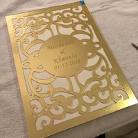 Guest Book Album Hard Covers White Empty Pages Customized Check in Book Party Gift Wedding Decoration 26X19cm