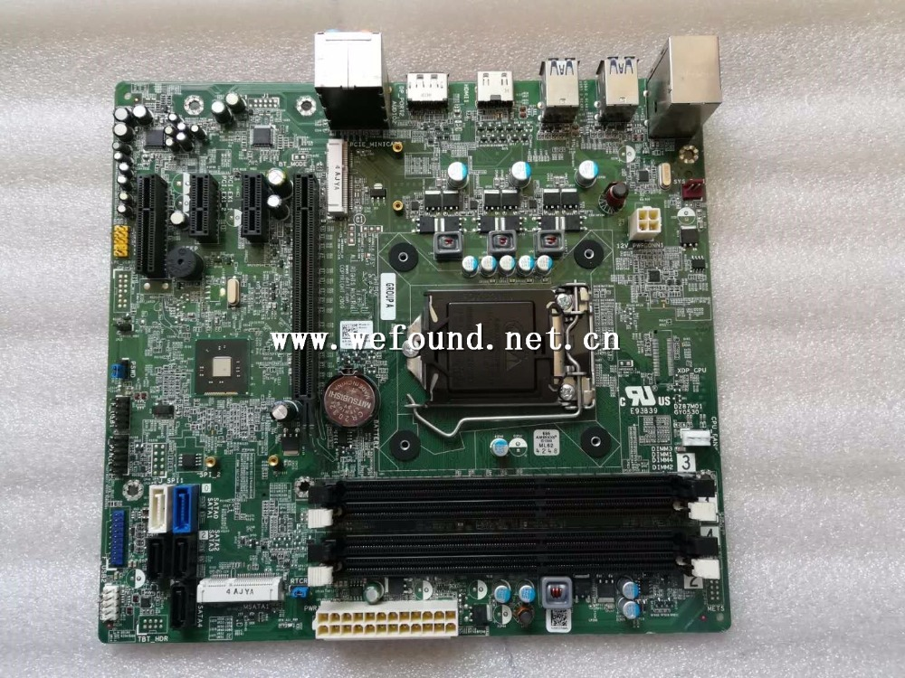 100 Working Desktop Motherboard For XPS 8700 Z87 CN-0KWVT8 KWVT8 DZ87M01 LGA 1150 System Board Fully Tested