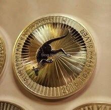 Gratis verzending, 5 x 1 oz zilveren munt - 2016 Australische Kangaroo zilveren munt
