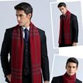 Cachecol классический дизайн зимний шарф длинный Теплый Кашемир Шарф Мужчины Шарфы Подарки Для Мужчин Бизнес Случайный Мужчины Платок платки