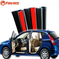 Four Doors Set Universal Automotive Front Rear Doors Rubber Seal Sealing Strips Trim Strip For Saloon Hatchback SUV MPV
