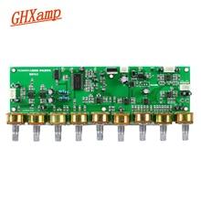 GHXAMP T62M0001A אודיו מיקסר לוח סטריאו קארה בסדר הדהוד לוח קדם מגבר טון AMP עם טרבל ובס התאמת DC12V 1 מחשב