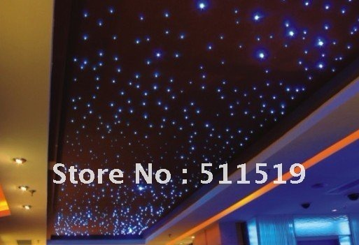 Whole 200 Mix Star Ceiling Kit 2m Long With 50pcs Crystal 16w Led Light Engine Remote For Eu And Us Market Only In Optic Fiber Lights From