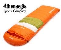 Athenaegis Füllen 800G Gans Unten Schlafsack Erwachsene Ultraleicht Wanderung Winter Tourist Outdoor Ausrüstung Camping Schlaf Taschen-in Schlafsäcke aus Sport und Unterhaltung bei