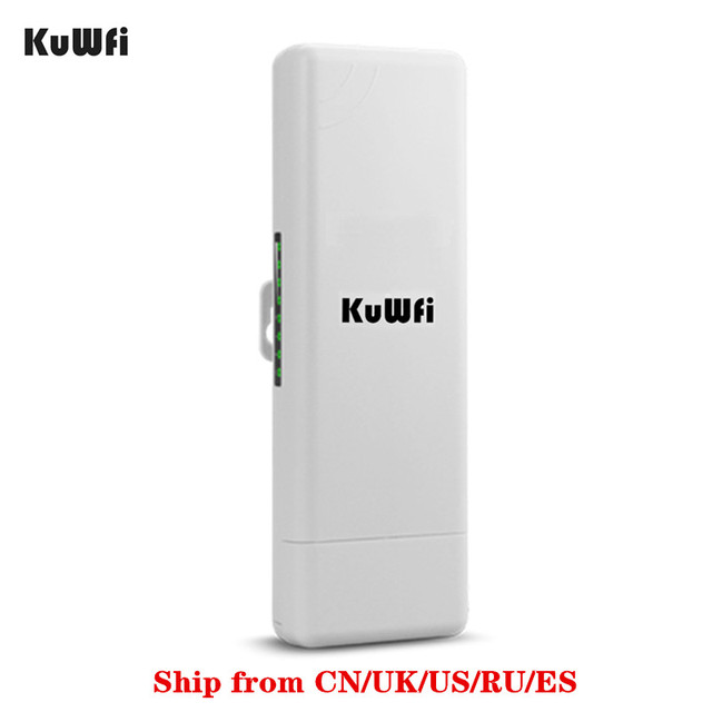 US $36 0 50% OFF|2Km Long Range Wireless Outdoor CPE WIFI Router 2 4Ghz  150Mbps WIFI Repeater Extender Outdoor AP Router AP Bridge Client Router-in