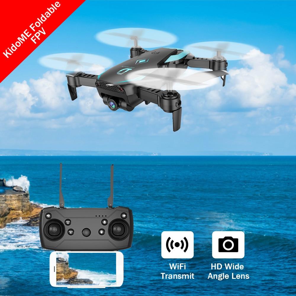 X12 Mini Drones Avec Caméra Hd Grand Angle Lentille Mode D'attente Pliable FPV Wifi RC Quadrocopter VS E58 JJRC H37 XS809HW Dron Avions