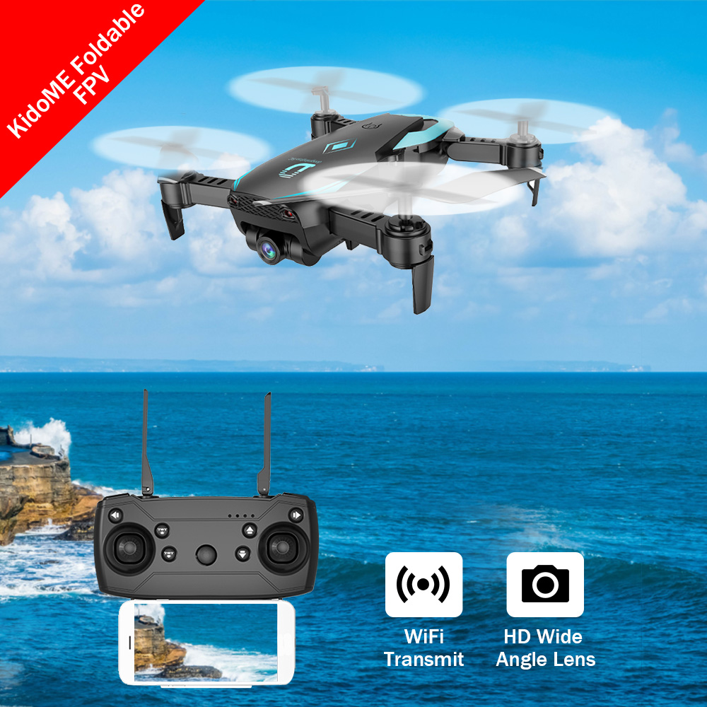X12 Mini Drones With Camera Hd Wide Angle Lens Hold Mode Foldable FPV Wifi RC Quadrocopter VS E58 JJRC H37 XS809HW Dron Aircraft