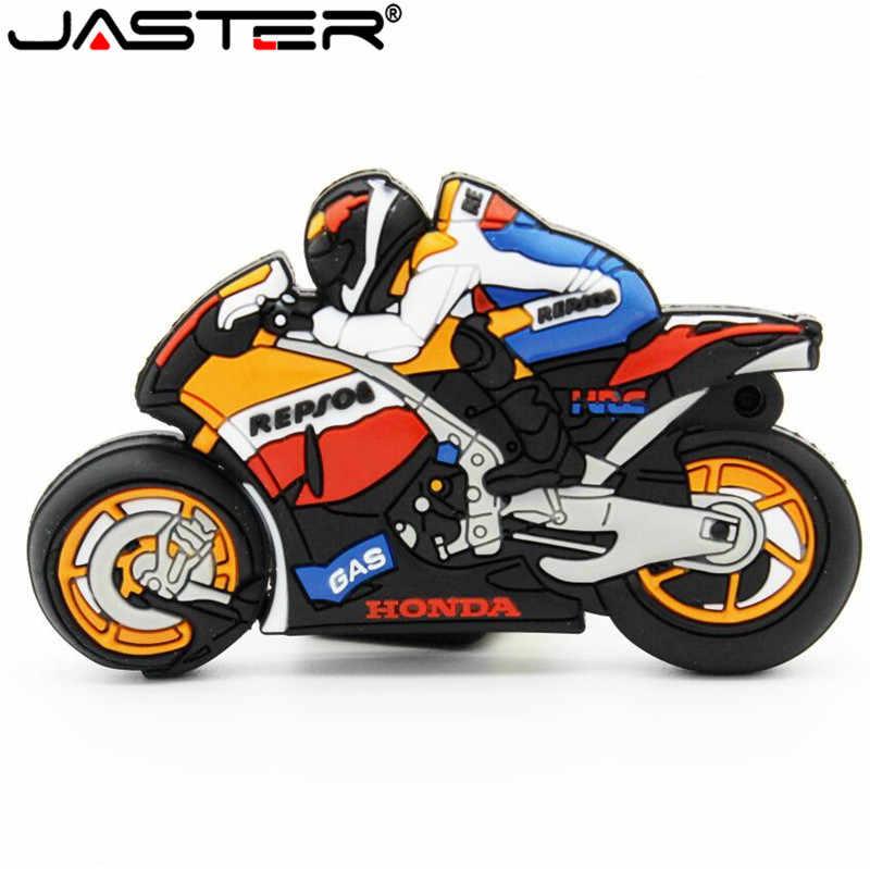 JASTER moto rcycle USB フラッシュドライブ GP moto ペンドライブ moto メモリスティック USB2.0 64 ギガバイト 8 ギガバイト 16 ギガバイト 32 ギガバイトの usb スティックフラッシュドライブペンドライブ