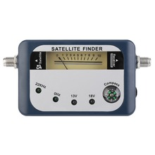 SF 07 Satellite Finder Signal Identifier Satellite Receiver TV Reception System Strength Meter Detector Pointer With