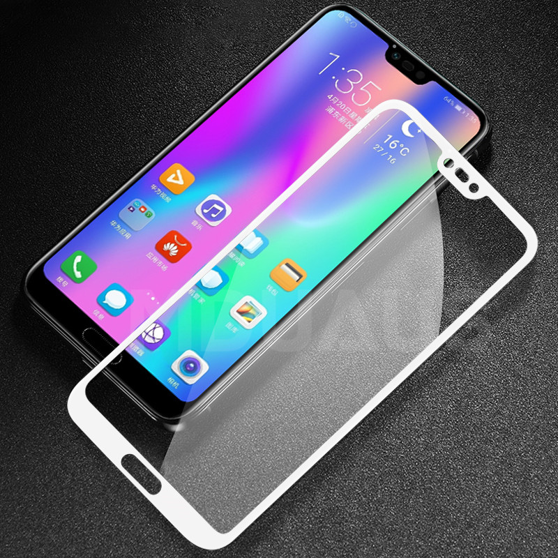 Full Cover Tempered Glass on the For Huawei Honor 10 Lite V10 V9 Play V20 Screen Protector For Honor 9 8 Lite Protective Film