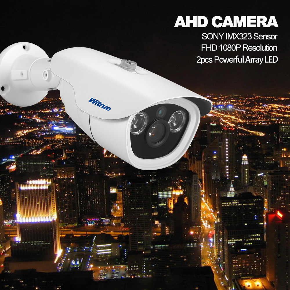 Witrue Home Security Camera 1080P AHD Camera Sony IMX323 Night Vision Outdoor Waterproof Surveillance Metal Case CCTV Camera