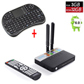 CSA93 S912 Amlogic del Androide 6.0 TV Box 3 GB RAM 32 GB ROM Smart TV Caja AP6330 2.4G/5.8 GHz WiFi H.265 BT4.0 4 K 2 K 1000 M Reproductor de LAM