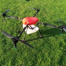 SkyhawkRC X4-10 10KG Agricultural plant protection drone Spraying uav Quadrotor carbon fiber frame Agriculture Machine