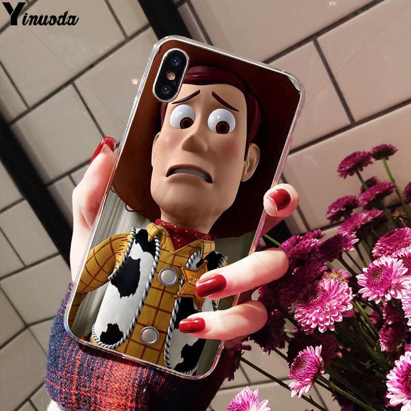 Yinuoda Вуди из «Истории игрушек» покупателей высокое качество чехол для iPhone X XS MAX 6 6s, 7, 7 plus, 8, 8 Plus, 5 5S SE XR