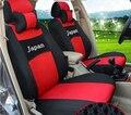 Bege/vermelho/azul/cinza logotipo Bordado Tampa de Assento Do Carro Da Frente 2 Assento Para Suzuki swift alto ALIVIO liana SX4 Respingo lavagem fácil
