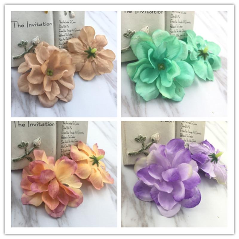 1pcs/ DIY accessories wedding Fuhua headdress shoes flower decoration flowers small Milan multi - color flower simulation orchid