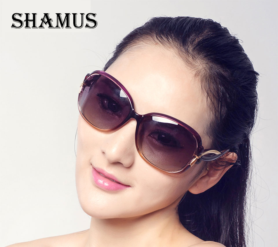 522b758992e US $15.6  SHAMUS Polarized Sunglasses Women Elegant Eyewear Top Fashion New  Trend Eyeglasses Lady UVA UVB Sunglass Women Vogue Sun Glass-in Sunglasses  ...