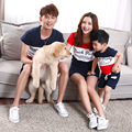 2017 summer T-shirt mother and daughter son clothes matching family clothing  family look jd013