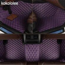 Kocololee tapete automotivo personalizado, piso automotivo para honda todos os modelos, crv, xrv, odyssey, jazz, city, crosstour, civic, crider, vezel, fit, accord tapetes do carro