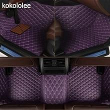 Kokolee tapis de sol de voiture personnalisé, intérieur de voiture, pour Honda, tous les modèles CRV XRV Odyssey Jazz, ville, croisour civic crider vezel compatible