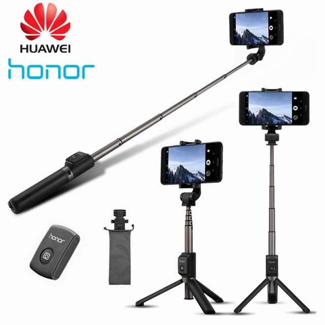 Huawei 社の名誉 AF15 Selfie スティック三脚 Bluetooth 3.0 ポータブルワイヤレス Bluetooth 制御一脚ハンドヘルド携帯電話 C2
