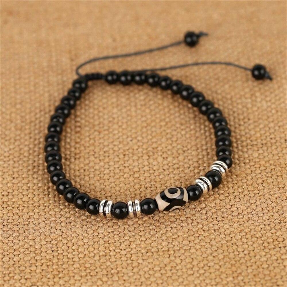 Beaded Ankle Bracelet Men Feet Jewelry Accessories Adjustable Length Lleg Bracelet Male Fashion Anklets