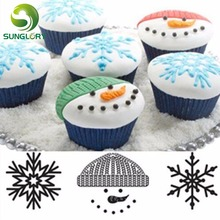 Set of 3 Scroll Winter Cupcake&Cookie Texture Tops Sugar Craft Decoration Texture Mat Fondant Cake Mold Baking Tools For Cakes bakers ez way dragees silver sugar cake cupcake cookie sprinkles 2mm