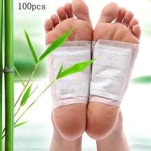 opp bag 100packs=200pcs/lot Kinoki Detox Foot Pads Patches With Adhesive / No Retail Box(200pcs=100pcs Patches+100pcs Adhesives