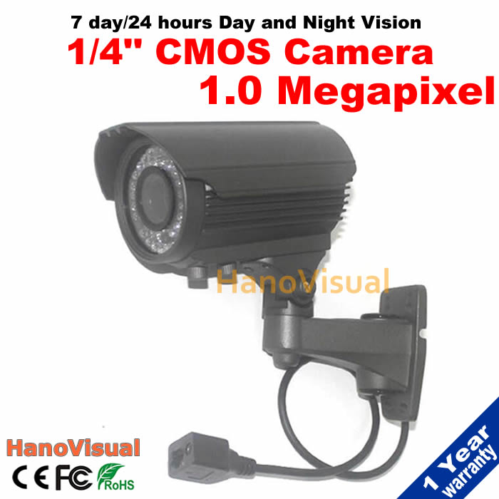 ФОТО Varifocal 1.0MP IP Camera 720P Outdoor Waterproof Night Vision ONVIF P2P Remote View Network IR Security Camera Motion Detection