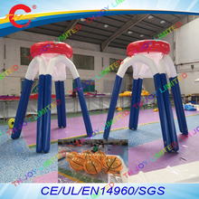 free air shipping to door,3mH/2.5mH commercial outdoor giant inflatable basketball hoop sport games(China)