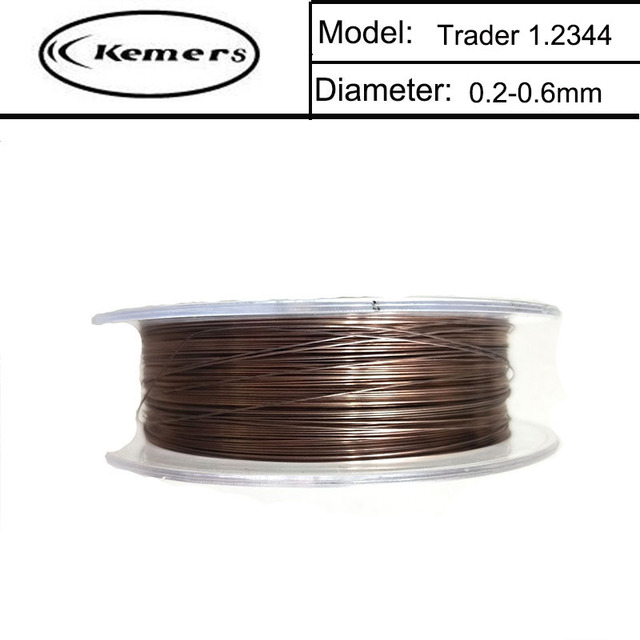 20m/Roll Kemers Laser welding wire 1.2344 Filler metal for soldering ...