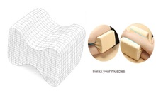 Memory Foam Knee Supporting Pillow for Pain Relief