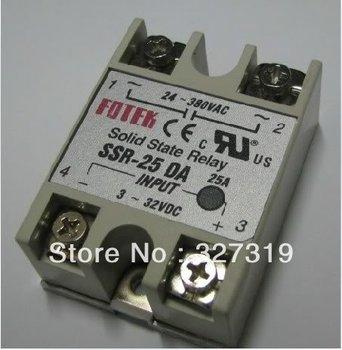 цена на 5pcs SOLID STATE RELAY SSR Temperature Controller DC-AC SSR-25DA 25A 3-32VDC