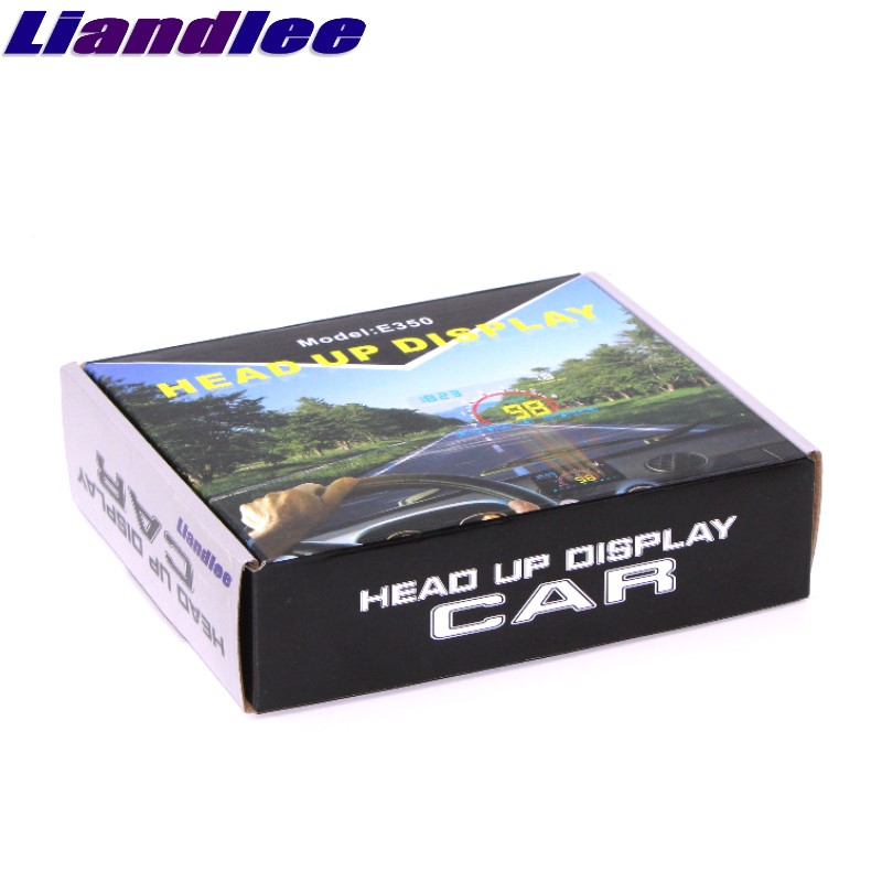 Liandlee HUD For Mitsubishi Space Star Attrage Magna Outlander Airtrek Monitor Speed Projector Windshield Vehicle Head Up 05